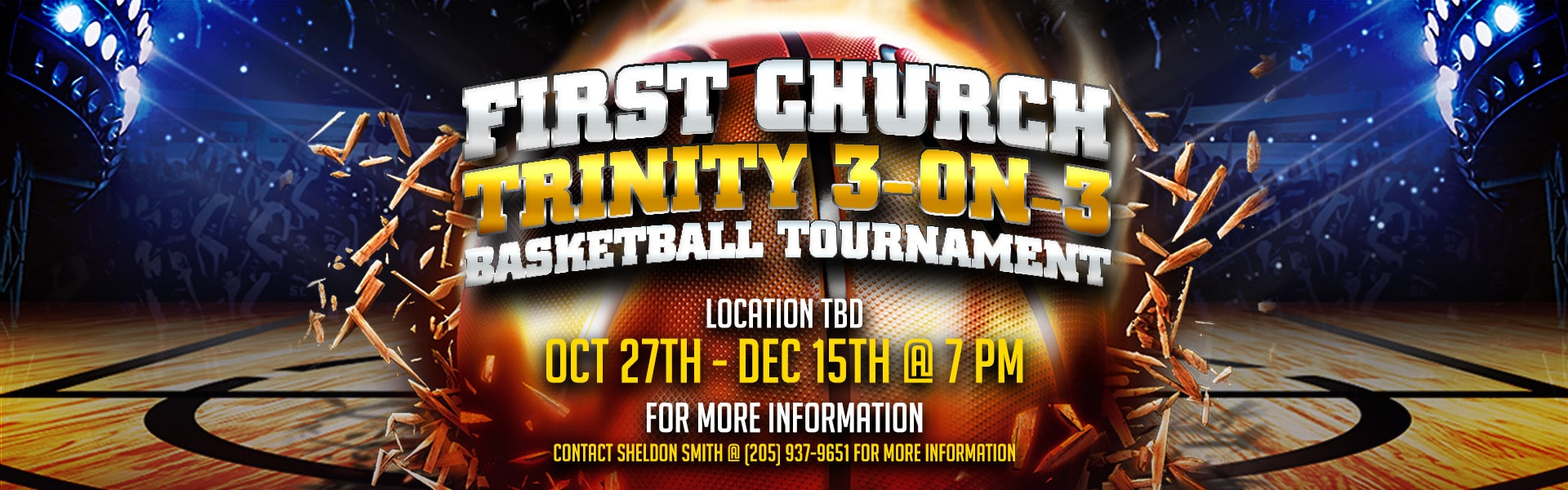 FC Intramural Basketball – Web Banner